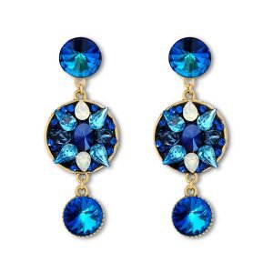 Long Bermuda Blue Earrings